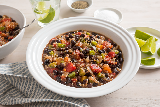 2019 crockpot black bean chili