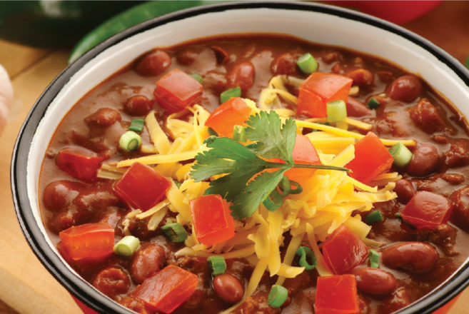 2019 three bean chili