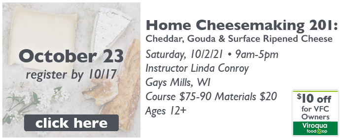 2021-10-23_DFS Class-Home Cheesemaking 201