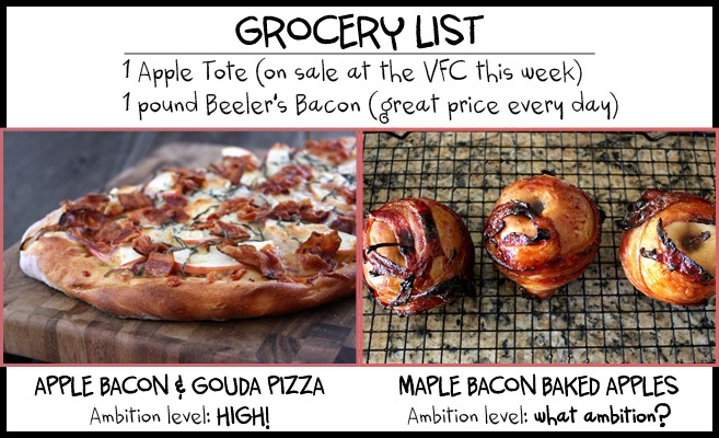 What to do with Bacon and Apples