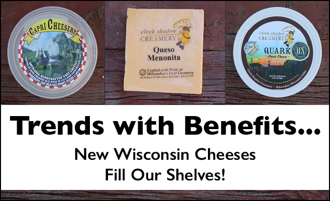 Wisconsin Cheeses