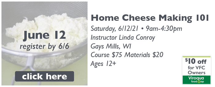 2021-6-12_DFS Class-Home Cheese Making 101