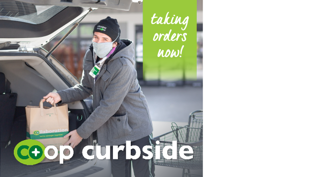 Co+op Curbside Online Ordering